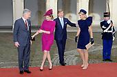 Bezoek Koning Filip en Mathilde van België aan Nederland