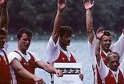 Lucerne, SWITZERLAND. POL M4+ 1992 FISA World Cup Regatta, Lucerne. Lake Rotsee.  [Mandatory Credit: Peter Spurrier: Intersport Images] 1992 Lucerne International Regatta and World Cup, Switzerland