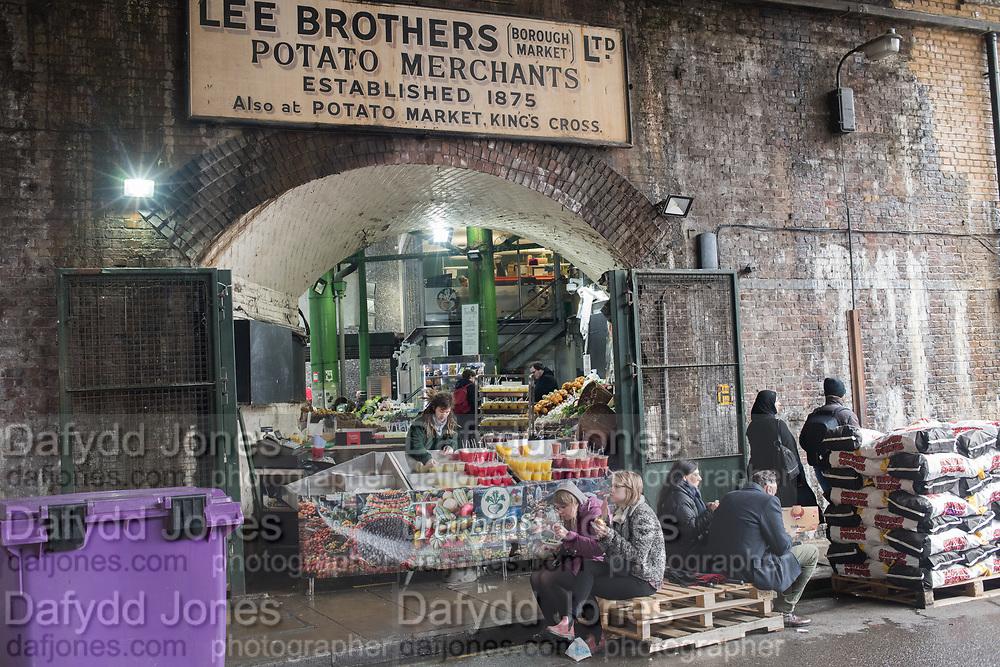 Borough Market, London. 28 March 2018