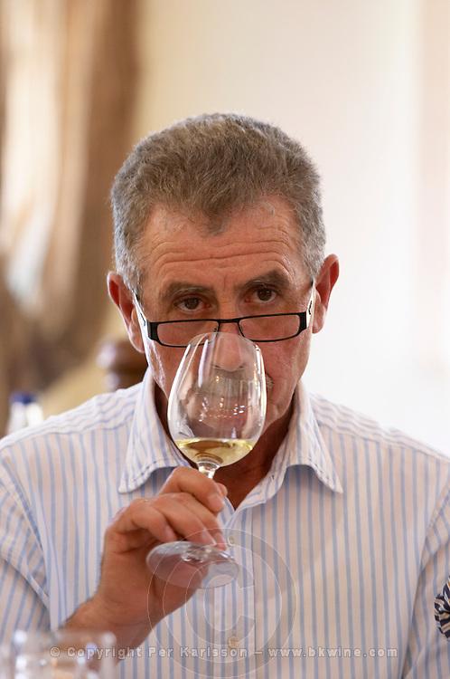 Yiannis Papadopoulos, owner. Wine Art Estate Winery, Microchori, Drama, Macedonia, Greece