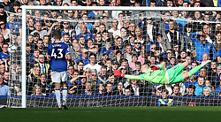 """West Ham United's Andriy Yarmolenko (not pictured) scores his side's second goal of the game during the Premier League match at Goodison Park, Liverpool. PRESS ASSOCIATION Photo. Picture date: Sunday September 16, 2018. See PA story SOCCER Everton. Photo credit should read: Peter Byrne/PA Wire. RESTRICTIONS: EDITORIAL USE ONLY No use with unauthorised audio, video, data, fixture lists, club/league logos or """"live"""" services. Online in-match use limited to 120 images, no video emulation. No use in betting, games or single club/league/player publications."""