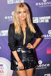Laura Whitmore. Red carpets arrivals at the MTV EMA's 2014 at The Hydro on November 9, 2014 in Glasgow, Scotland.