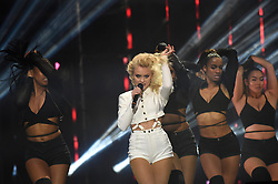Zara Larsson performs during the European MTV Europe Music Awards at the Ahoy Rotterdam, Netherlands, Sunday 6th November, 2016. Photo by Robin Utrecht/ABACAPRESS.COM