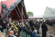 IRB Rugby World Cup 2011, official team welcome for France. Orakei Marae, Auckland, New Zealand. Saturday 3rd September 2011. Photo: Anthony Au-Yeung / photosport.co.nz