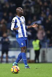 January 7, 2018 - Porto, Porto, Portugal - Porto's Portuguese midfielder Danilo Pereira reacts during the Premier League 2017/18 match between FC Porto and Vitoria SC, at Dragao Stadium in Porto on January 7, 2018. (Credit Image: © Dpi/NurPhoto via ZUMA Press)