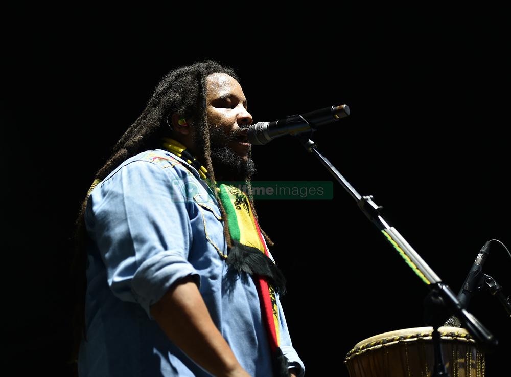 June 30, 2018 - Virginia Beach, VIRGINIA, USA - STEPHEN MARLEY Grammy winner brings the reggae to the Veteran's United Home Loans Amphitheater . in Virginia Beach, Virginia on 30 JUNE 2018. (Credit Image: © Jeff Moore via ZUMA Wire)