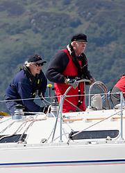 Silvers Marine Scottish Series 2017<br /> Tarbert Loch Fyne - Sailing<br /> <br /> 4040C, Lemarac, Mr. A. Boyd Tunnock, Clyde Cruising Club, Moody 38