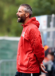 28.06.2017, Steinbergstadion, Leogang, AUT, Testspiel, FC Red Bull Salzburg vs FC Akhmat Grozny, im Bild head coach Marco Rose (RBS) // during the friendly football match between FC Red Bull Salzburg and FC Akhmat Grozny at the Steinbergstadion, Leogang, Austria on 2017/06/28. EXPA Pictures © 2017, PhotoCredit: EXPA/ Johann Groder