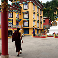 The Chamtrul Rinpoche's Temple in Dharmshala, India.<br /> Photo by Shmuel Thaler <br /> shmuel_thaler@yahoo.com www.shmuelthaler.com