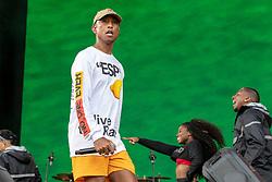 August 10, 2018 - San Francisco, California, U.S - PHARRELL WILLIAMS of N.E.R.D. during Outside Lands Music Festival at Golden Gate Park in San Francisco, California (Credit Image: © Daniel DeSlover via ZUMA Wire)