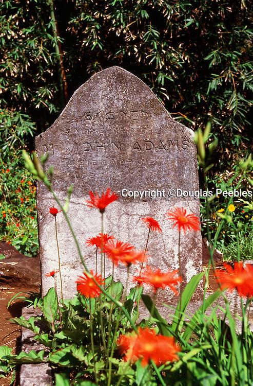 John Adams grave, Pitcairn Island
