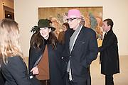 ROBERTA HANLEY; CHRIS HANLEY  Mandala for Crusoe, Exhibition of work by Francesco Clemente. Blain/Southern. Hanover Sq. London. 29 November 2012