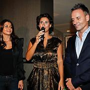 NLD/Huizen/20100930 - Presentatie Talkies magazine Woonidee, Kristina Bozilovic, Erik kusters en Olcay Gulsen