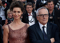 Actress Actress Maria Fernanda Cândido and Director Marco Bellocchio at the The Traitor (Il Traditore) gala screening at the 72nd Cannes Film Festival Thursday 23rd May 2019, Cannes, France. Photo credit: Doreen Kennedy