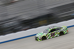 October 5, 2018 - Dover, Delaware, United States of America - Kyle Busch (18)  takes to the track to practice for the Gander Outdoors 400 at Dover International Speedway in Dover, Delaware. (Credit Image: © Justin R. Noe Asp Inc/ASP via ZUMA Wire)
