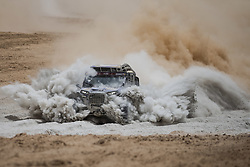 AREQUIPA, Jan. 11, 2019  Polish driver Maciej Domzala and co-driver Rafal Marton compete during the 4th stage of the 2019 Dakar Rally Race, near La Joya, Arequipa province, Peru, on Jan. 10, 2019. Maciej Domzala and Rafal Marton finished the 4th stage with 8 hours 26 minutes and 52 seconds. (Credit Image: © Xinhua via ZUMA Wire)