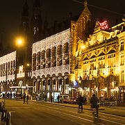 NLD/Amsterdam/20131128 - Magna Plaza Amsterdam in kerstsferen ,