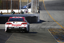 June 23, 2017 - Sonoma, CA, United States of America - June 23, 2017 - Sonoma, CA, USA: Kyle Larson (42) takes to the track to practice for the Toyota/Save Mart 350 at Sonoma Raceway in Sonoma, CA. (Credit Image: © Justin R. Noe Asp Inc/ASP via ZUMA Wire)