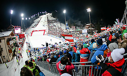 13-01-2015 AUT: Alpine Skiing World Cup, Flachau<br /> Spectors during the 2nd run of the ladie's Slalom of the FIS Ski Alpine World Cup at the Hermann Maier Weltcupstrecke in Flachau<br /> <br /> ***NETHERLANDS ONLY***