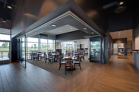 Interior image of  Redstone Gateway Conference and Dining Center in Huntsville Alabama by Jeffrey Sauers of Commercial Photographics, Architectural Photo Artistry in Washington DC, Virginia to Florida and PA to New England