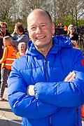 Koning Willem Alexander opent Koningsspelen in Lemmer. Dit jaar staat het thema water drinken centraal.<br /> <br /> King Willem Alexander opens King's Games in Lemmer. This year the theme is drinking water.<br /> <br /> Op de foto / On the photo: <br /> <br />  Ron Boszhard