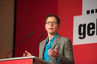 DEU, Deutschland, Germany, Berlin, 10.12.2016: Sandra Brunner, stv. Linken-Landesvorsitzende, beim Landesparteitag von Die Linke im WISTA-Veranstaltungszentrum Adlershof.