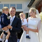 NLD/Ermelo/20070709 - Huwelijk Winston Gerstanowitz en Renate Verbaan, met kinderen Julian en Benjamin