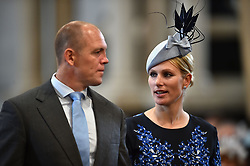 File photo dated 10/06/16 of Zara Phillips and Mike Tindall, who are expecting their second child, a spokeswoman for the couple has said.