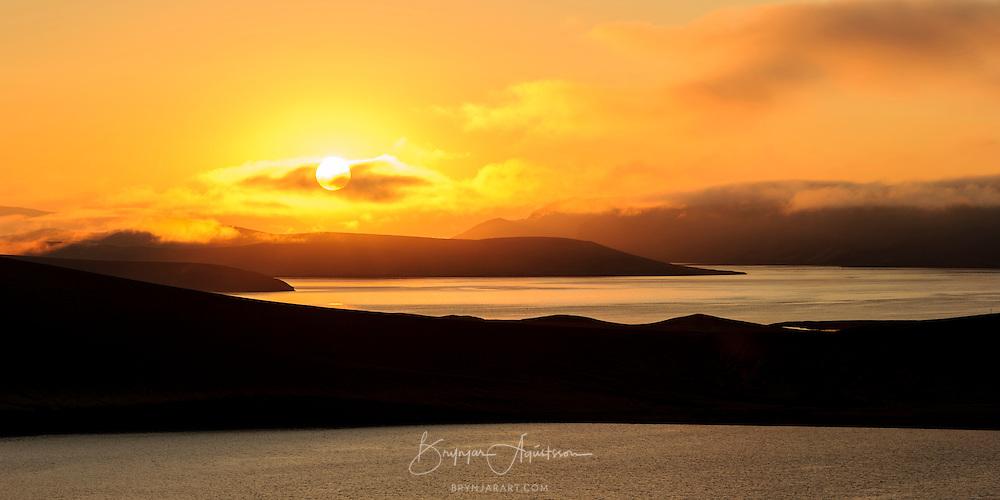 Sunrise in Veiðivötn