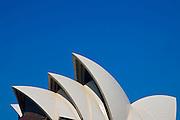 Sculptural view of Sydney Opera House, Australia