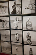 London, UK. Friday 23rd November 2012. Christies auction house showcasing memorabilia from every decade of the past century of popular culture from the industries of film and music. Contact sheet of Famous Bond Girl Ursula Andress in the famous 'coming out of the water scene'.