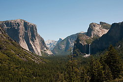 Yosemite Valley from Tunnel Viewpoint, Yosemite National Park, California, USA.  Photo copyright Lee Foster.  Photo # california121265