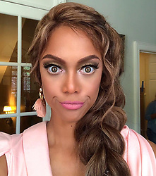 """Tyra Banks releases a photo on Instagram with the following caption: """"That face you make when you just wanna say, \u201cReally, tho?!\u201d"""". Photo Credit: Instagram *** No USA Distribution *** For Editorial Use Only *** Not to be Published in Books or Photo Books ***  Please note: Fees charged by the agency are for the agency's services only, and do not, nor are they intended to, convey to the user any ownership of Copyright or License in the material. The agency does not claim any ownership including but not limited to Copyright or License in the attached material. By publishing this material you expressly agree to indemnify and to hold the agency and its directors, shareholders and employees harmless from any loss, claims, damages, demands, expenses (including legal fees), or any causes of action or allegation against the agency arising out of or connected in any way with publication of the material."""