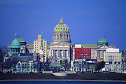 PA Capitol, Harrisburg Skyline, Susquehanna River