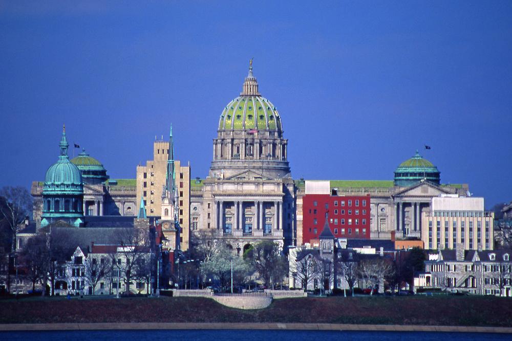PA Capitol, Harrisburg Skyline, Susquehanna River