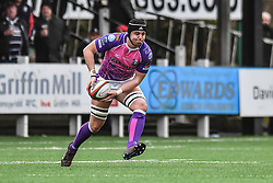 Pontypridd's Sean Moore in action during todays match - Mandatory by-line: Craig Thomas/Replay images - 30/12/2017 - RUGBY - Sardis Road - Pontypridd, Wales - Pontypridd v Bedwas - Principality Premiership