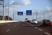 Israel, Highway 6 a new toll highway running from north to south