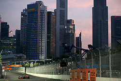 FORMEL 1: GP von Singapur, 27.09.2009 <br /> Rennstrecke, Stadtansicht, Illustration<br /> © pixathlon