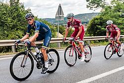 04.07.2017, Pöggstall, AUT, Ö-Tour, Österreich Radrundfahrt 2017, 2. Etappe von Wien nach Pöggstall (199,6km), im Bild Stefan Denifl (AUT, Aqua Blue Sport) // Stefan Denifl of Austria (Aqua Blue Sport) during the 2nd stage from Vienna to Pöggstall (199,6km) of 2017 Tour of Austria. Pöggstall, Austria on 2017/07/04. EXPA Pictures © 2017, PhotoCredit: EXPA/ JFK
