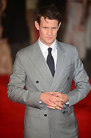 Matt Smith at  the European Premiere of Pride and Prejudice and Zombies, at the VUE West End in London, England. 1st February 2016