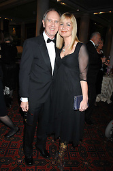 SIAN LLOYD and her husband JONATHAN ASHMAN at the Morgan Stanley Great Britons Awards at The Guildhall, City of London on 31st January 2008.  Conservative party leader David Cameron presenter a lifetime achievement award to former Prime Minister Baroness Thatcher.<br /> <br /> NON EXCLUSIVE - WORLD RIGHTS (EMBARGOED FOR PUBLICATION IN UK MAGAZINES UNTIL 2 WEEKS AFTER CREATE DATE AND TIME) www.donfeatures.com  +44 (0) 7092 235465