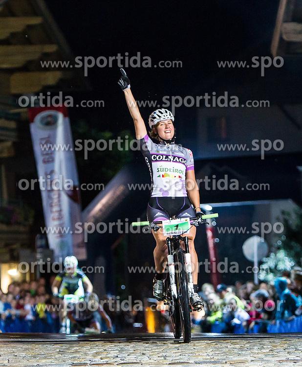03.08.2012, Kaprun, AUT, Bike Infection, XC BATTLE Damen, im Bild Siegerin 2012 Nathalie Schneitter (SUI). EXPA Pictures © 2012, PhotoCredit: EXPA/ Juergen Feichter