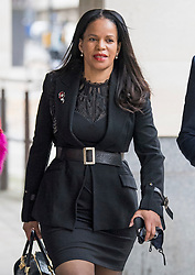© Licensed to London News Pictures. 11/11/2020. London, UK. Labour MP CLAUDIA WEBBE MP arrives at Westminster Magistrates Court in London where she is charged with harassment. Webbe, who is the MP for Leicester East, is accused of harassing a woman  Photo credit: Ben Cawthra/LNP