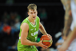 Zoran Dragic of Slovenia during friendly match between National Teams of Slovenia and New Zealand before World Championship Spain 2014 on August 16, 2014 in Kaunas, Lithuania. Photo by Vid Ponikvar / Sportida.com