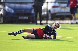 Becky Hughes of Bristol Bears Women touches down - Mandatory by-line: Paul Knight/JMP - 19/01/2019 - RUGBY - Shaftesbury Park - Bristol, England - Bristol Bears Women v Worcester Valkyries - Tyrrells Premier 15s