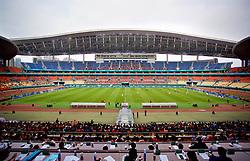 NANNING, CHINA - Monday, March 26, 2018: Czech Republic take on China during the 2018 Gree China Cup International Football Championship at the Guangxi Sports Centre. (Pic by David Rawcliffe/Propaganda)