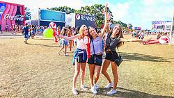 Público durante a 22ª edição do Planeta Atlântida. O maior festival de música do Sul do Brasil ocorre nos dias 3 e 4 de fevereiro, na SABA, na praia de Atlântida, no Litoral Norte gaúcho.  Foto: Lucas Uebel / Agência Preview