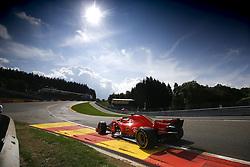 August 24, 2018 - Spa-Francorchamps, Belgium - Motorsports: FIA Formula One World Championship 2018, Grand Prix of Belgium, .#7 Kimi Raikkonen (FIN, Scuderia Ferrari) (Credit Image: © Hoch Zwei via ZUMA Wire)