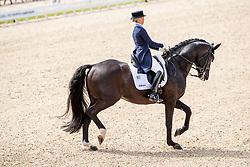 NILSHAGEN Therese (SWE), DANTE WELTINO OLD<br /> Rotterdam - Europameisterschaft Dressur, Springen und Para-Dressur 2019<br /> Longines FEI European Championships Dressage Grand Prix - Teams (1st group)<br /> Teamwertung 1. Gruppe<br /> 19. August 2019<br /> © www.sportfotos-lafrentz.de/Dirk Caremans