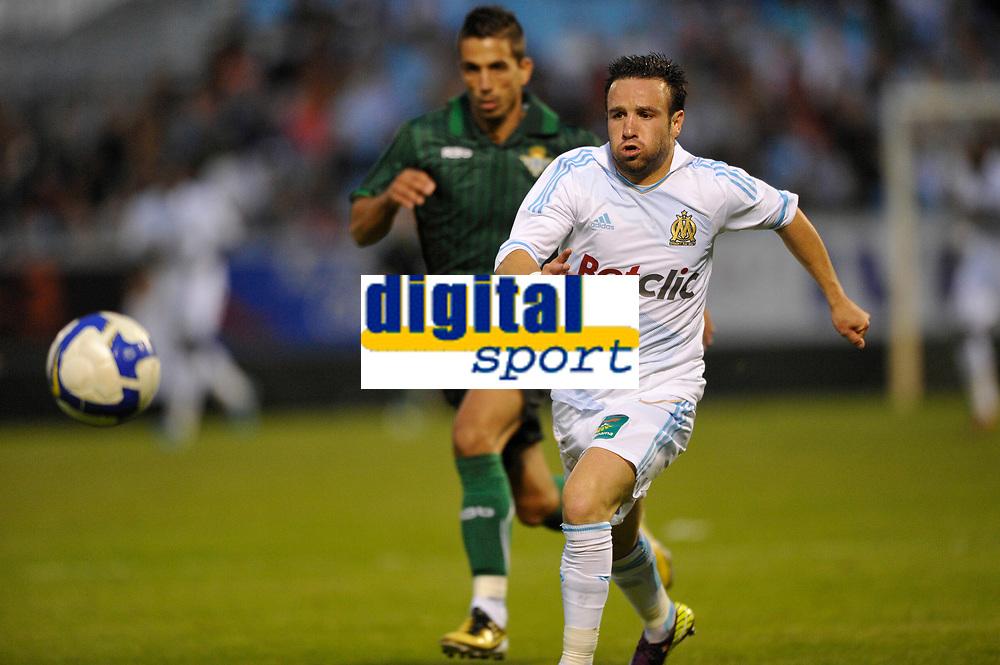 FOOTBALL - FRIENDLY GAMES 2011/2012 - OM v REAL BETIS SEVILLA - 20/07/2011 - PHOTO GUY JEFFROY / DPPI - MATHIEU VALBUENA (OM)